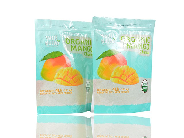 fried fruit packaging bag pouch fruta