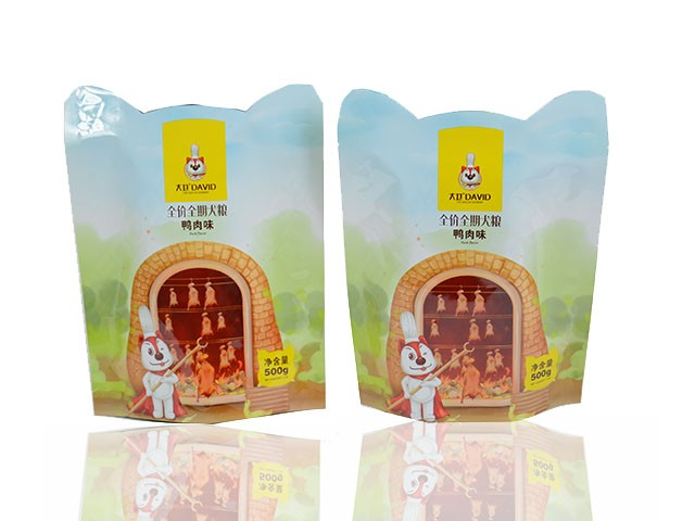special shaped composite bag for pet food